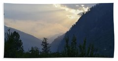 Mountain Escapapde Hand Towel by Sumit Mehndiratta