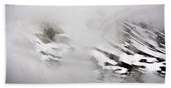 Mountain Fog - Alaska Hand Towel
