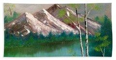 Mountain Lake Hand Towel