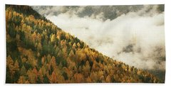 Mountain Landscape Bath Towel