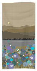 Mountain Meadow Morning Hand Towel