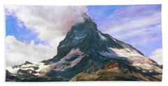 Bath Towel featuring the photograph Mountain Of Mountains  by Connie Handscomb