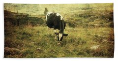 Mountain Pastures  Bath Towel
