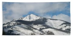 Hand Towel featuring the photograph Mountain Peak by Jewel Hengen