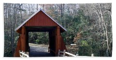 Campbells Covered Bridge 3 Hand Towel by Cathy Harper