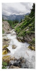 Mountain River Hand Towel