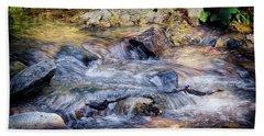 Bath Towel featuring the photograph Mountain Stream by Elaine Malott