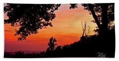 Bath Towel featuring the photograph Mountain Sunrise by Meta Gatschenberger