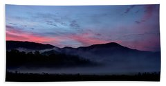 Mountain Sunrise Hand Towel
