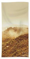 Mountainous Tasmanian Mist Hand Towel