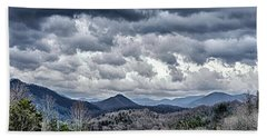 Bath Towel featuring the photograph Mountains 1 by Walt Foegelle