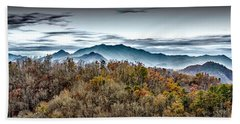 Bath Towel featuring the photograph Mountains 2 by Walt Foegelle