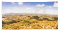 Mountains And Open Spaces Hand Towel