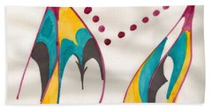 Mountains Echoing Hand Towel