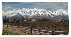 Mountains In Logan Utah Hand Towel