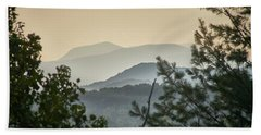 Mountains In The Distance Hand Towel