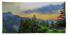Mountains Tatry National Park - Pol1003778 Bath Towel