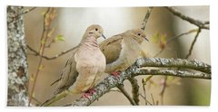 Mourning Doves 4142 Bath Towel