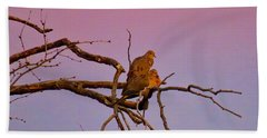 Mourning Doves Bath Towel