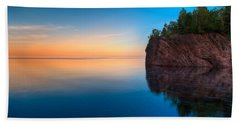 Mouth Of The Baptism River Minnesota Hand Towel