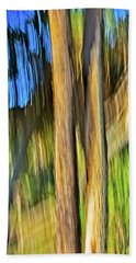 Moving Trees 33 Portrait Format Bath Towel