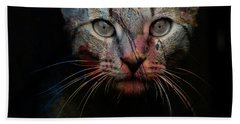 Bath Towel featuring the photograph Mr Bo by Paul Lovering