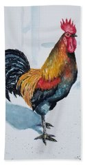 Mr. Browne's Rooster Hand Towel