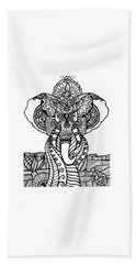 Mr. Elephante Hand Towel