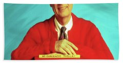 Mr Rogers With Trolley Hand Towel