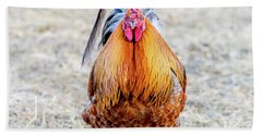 Mr. Rooster Hand Towel