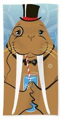 Mr. Walrus Bath Towel