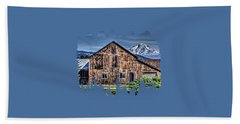 Hand Towel featuring the photograph Mt. Adams by Thom Zehrfeld