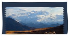 Mt. Denali National Park Bath Towel