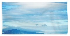 Mt Diablo View With Oak Bath Towel