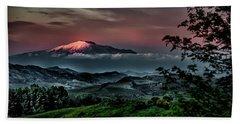 Mt. Etna I Hand Towel