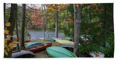 Mt. Gretna Canoes Hand Towel