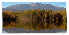 Mt Katahdin Baxter State Park Fall 1 Bath Towel