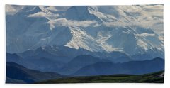 Bath Towel featuring the photograph Denali by Gary Lengyel