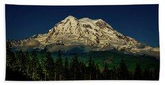 Mt Rainier Hand Towel