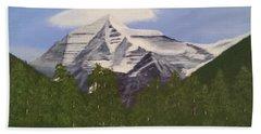 Mt. Robson, Bc Bath Towel