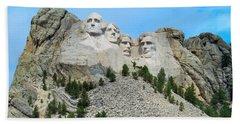 Mt Rushmore Bath Towel