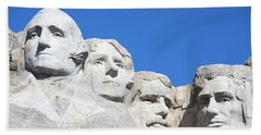 Mt. Rushmore Bath Towel