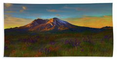Mt. St. Helens Sunrise Bath Towel