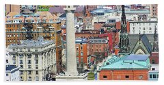 Mt Vernon - Baltimore Hand Towel by Brian Wallace