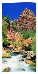 Mt.moroni / Virgin River Hand Towel