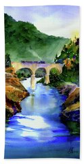 Mtn Quarries Rr Bridge Bath Towel