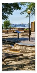 Mud Island Park Bath Towel