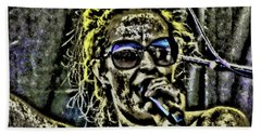 Mud Singer Hand Towel