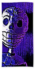 Muertos 2 Bath Towel by Pamela Cooper
