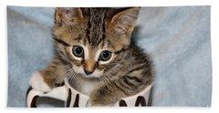 Mug Kitten Bath Towel